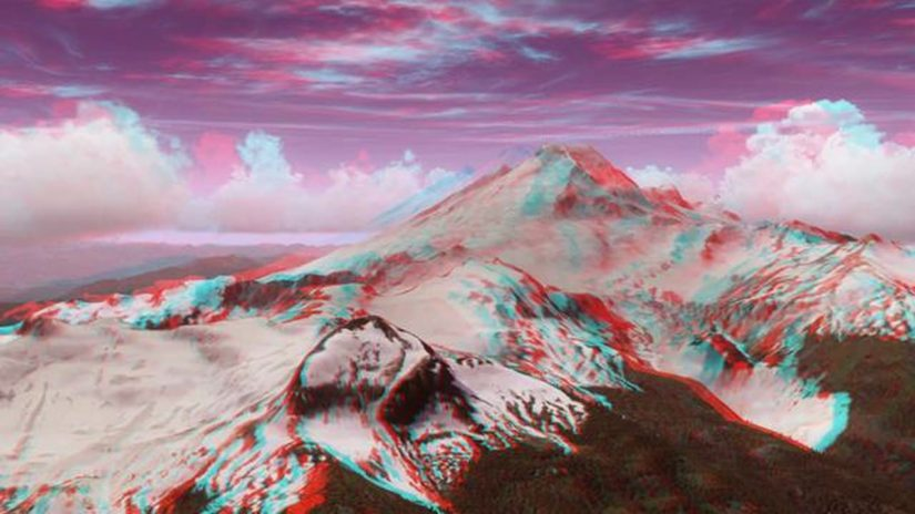 FTX Pacific Northwest 3D anaglyph