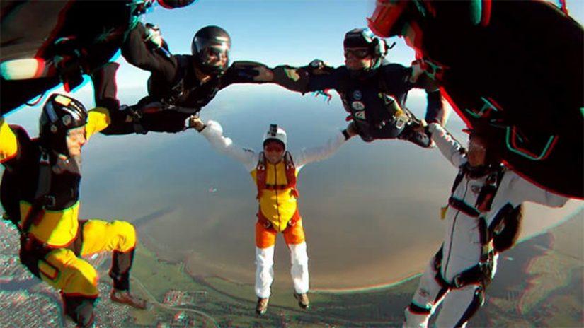 Skydiving at Parasummer 3D