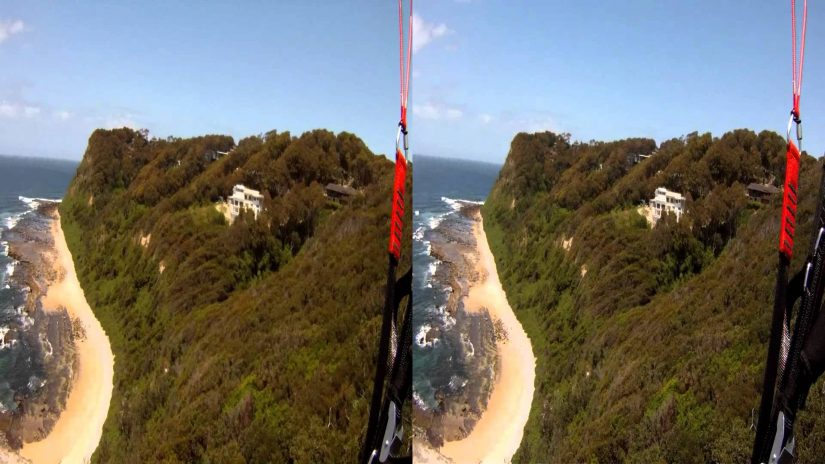 Nova Bion 33 Tandem Paraglider with Peter in 3D