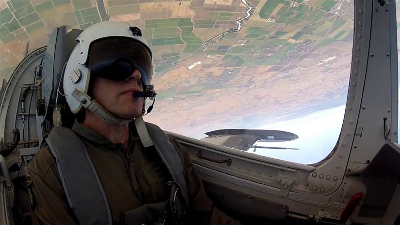 Alf Egil flies L39 Fighter Jet