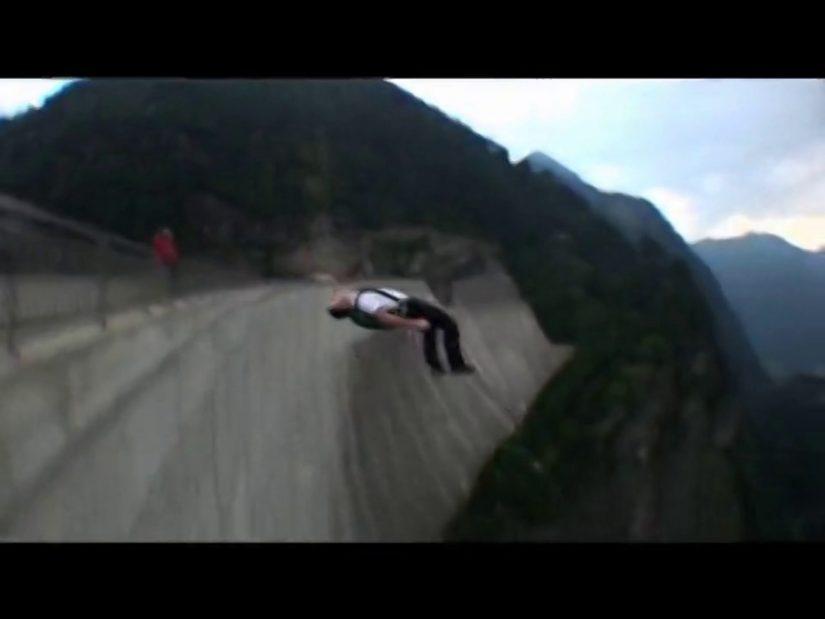 Extreme BASE jumping in Switzerland Scott Paterson Aussie
