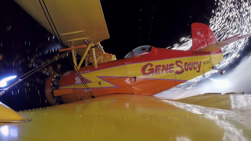 Fireworks Flight With Gene Soucy