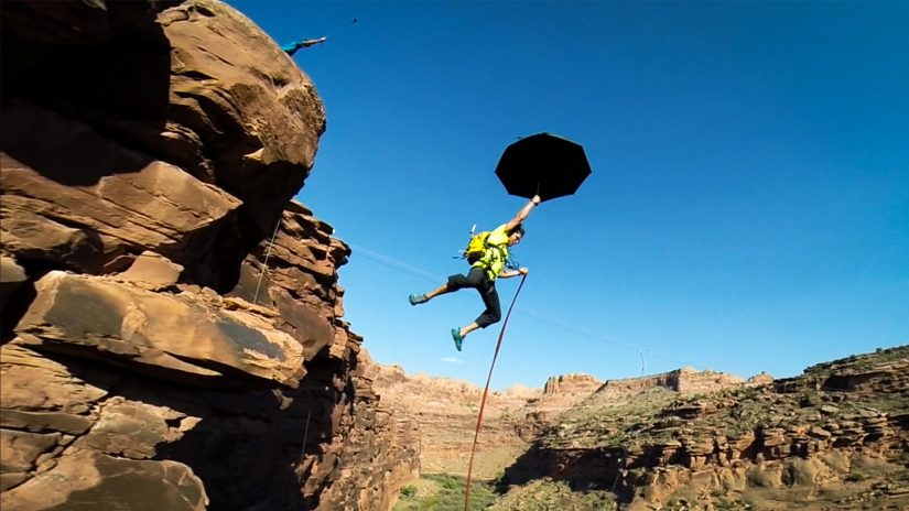 250ft Canyon Rope Swing Bomb Squad