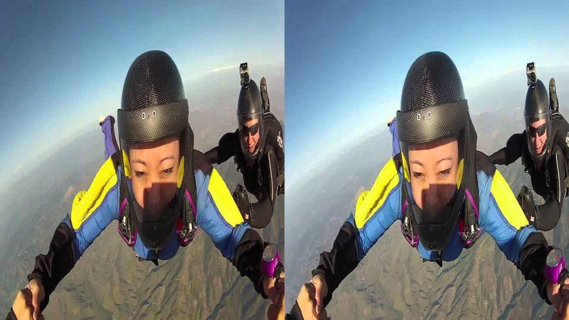Meglio di 3D SBS 1080p skydive 3
