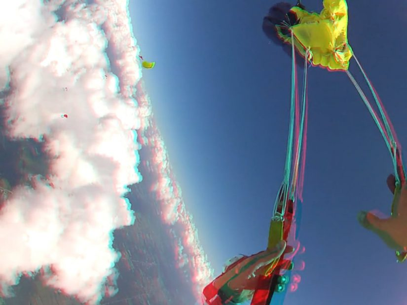 3D cloud surfing HD 1440 1080