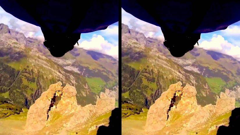 Vrin Realtà Virtuale volo volo 3D SBS Google Cardboard