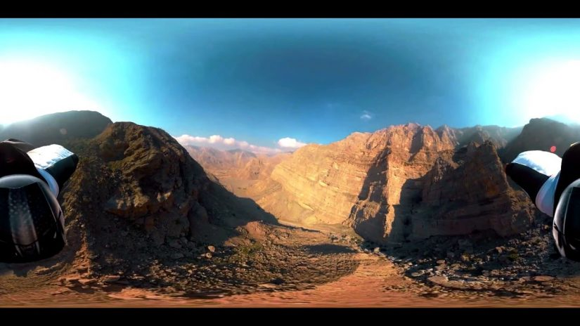 Extreme Wingsuit 360 Graham Dickinson Dubai
