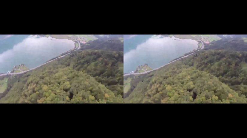 SBS VR Wingsuit BASE Jump POV