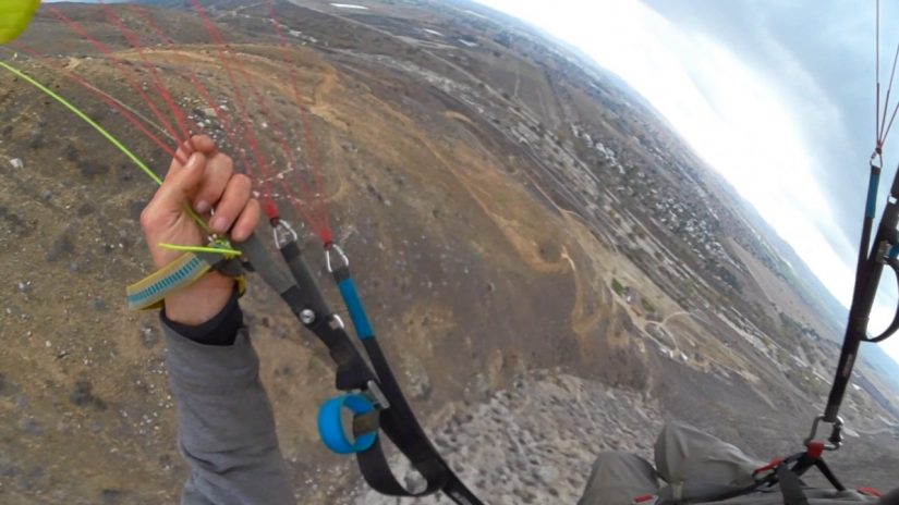 SpeedFlying Rapido en Soboba en 360