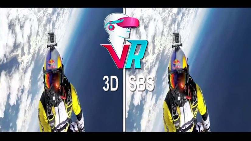 3D Seele Flyers GoPro POV Full HD 3D SBS VR Box