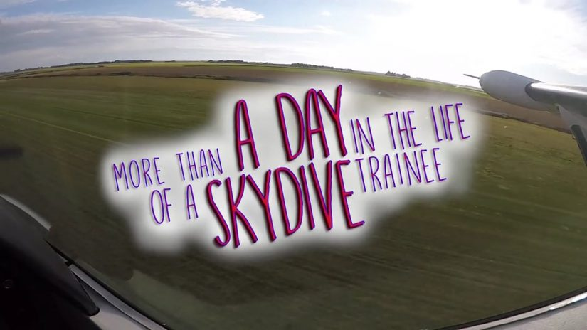 More than a day in the life of a skydive trainee