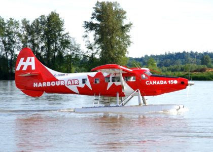 A Flight In The Canada 150 Otter