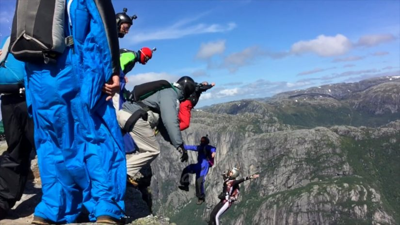 Exploring Kjerag Jumps Flights Rainbows Waterfalls