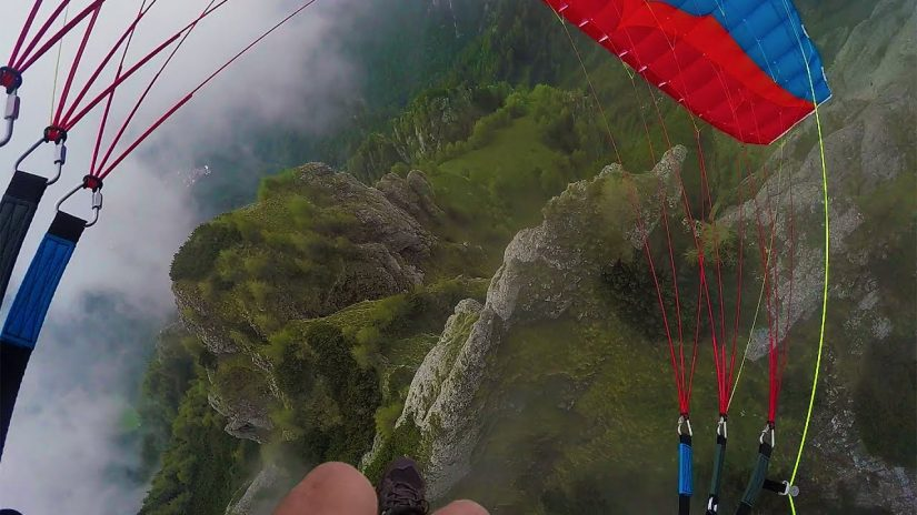 GoPro Awards Speedflying Through Fog with Jamie Lee