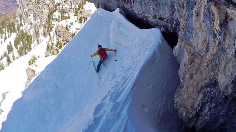 Steep Lines and Speed Flying Ben White 2017 saison Modifier