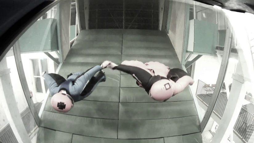 Indoor wingsuit SeptemberOctober