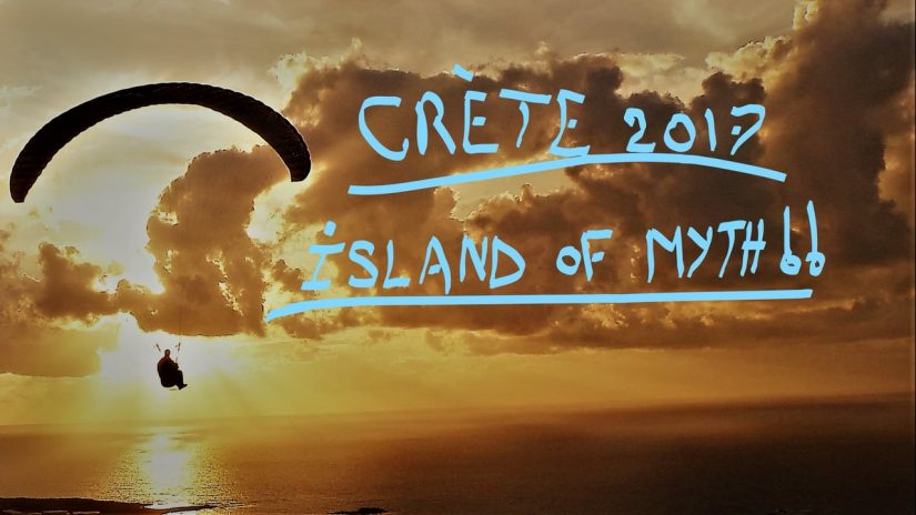 Paragliding in Crte November 2017 the Island Of Myth
