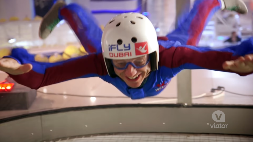 Indoor Skydiving in Dubai