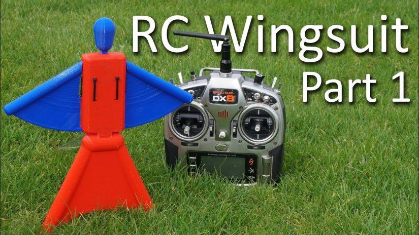 RC Wingsuit Part 1