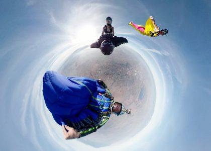 GoPro Fusion Jeb Corliss Wingsuit Rodeo