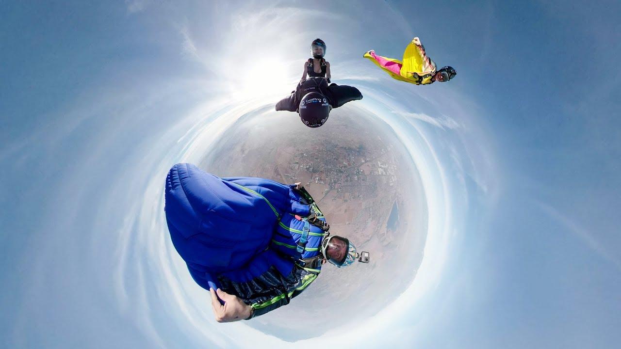 Jeb Corliss Wingsuit Rodeo