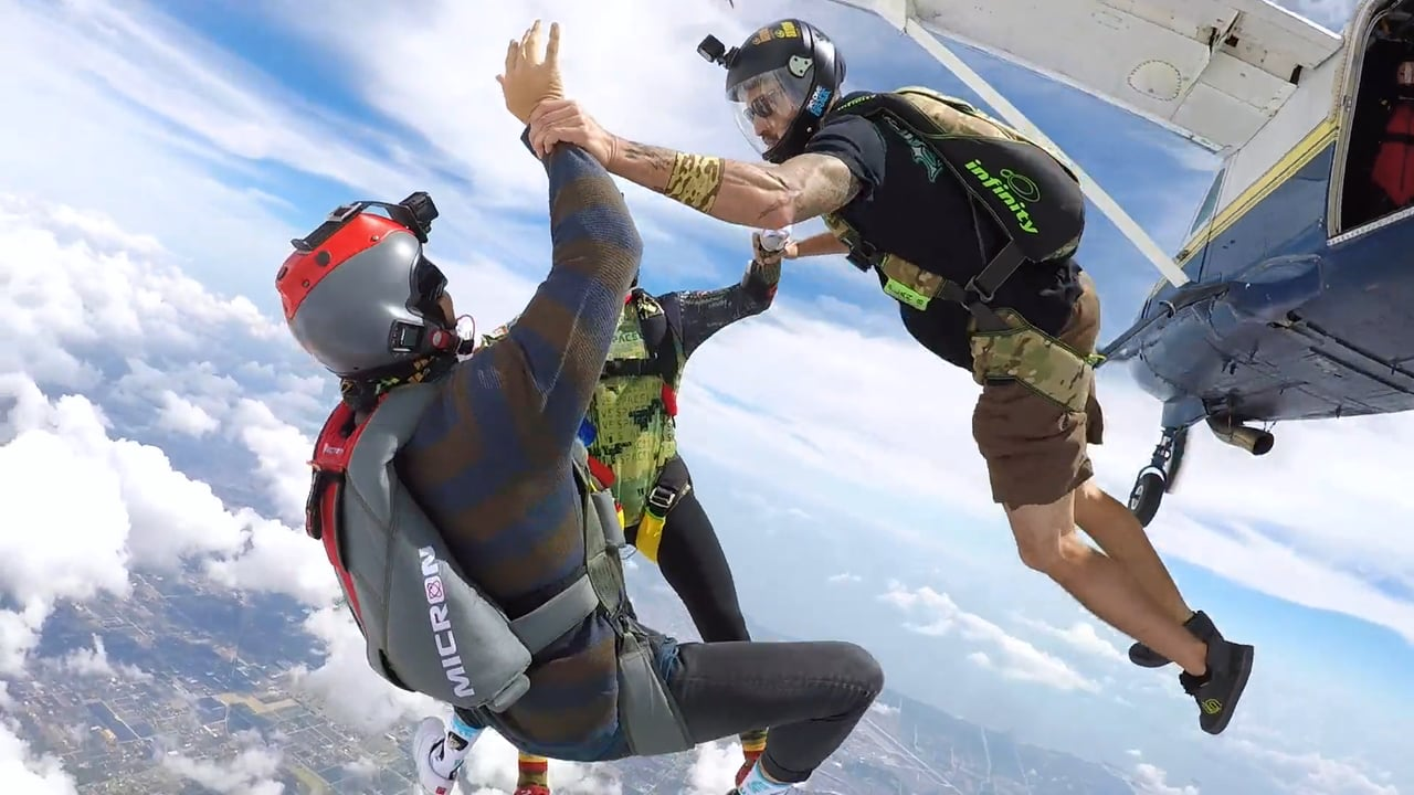 Paragliding and Skydiving Weekend Experience in Miami