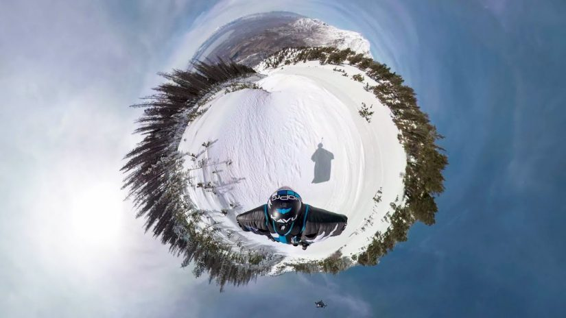 GoPro OverCapture POV proximité Wingsuit avec Marshall Miller