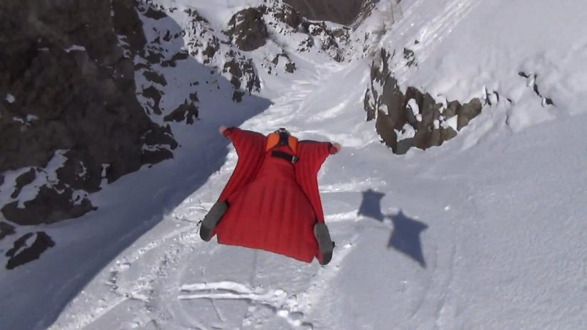 Denivelator Wingsuit a Tribute to Brian Drake
