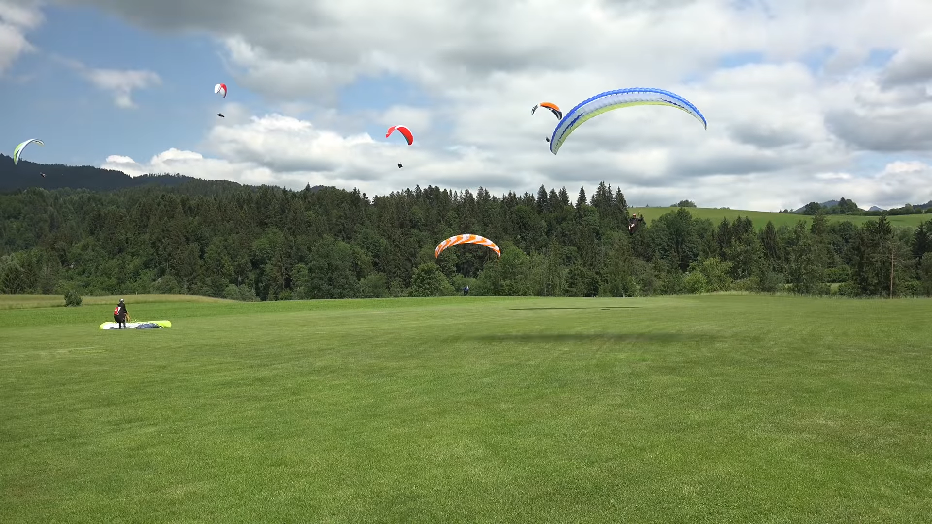 Kössen Super Paragliding Testival 2018