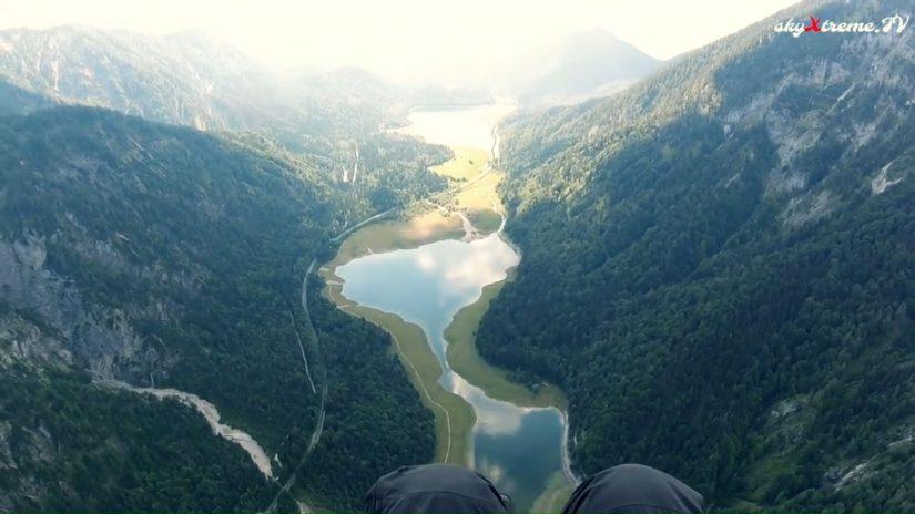 Bavarian Alps Paragliding