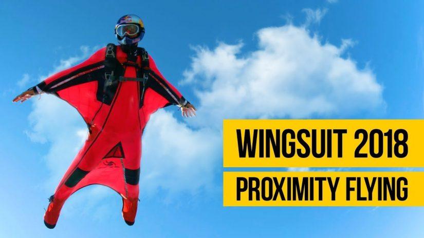 WINGSUIT PROXIMITY FLYING 2018 Dangerous wingsuit flying compilation