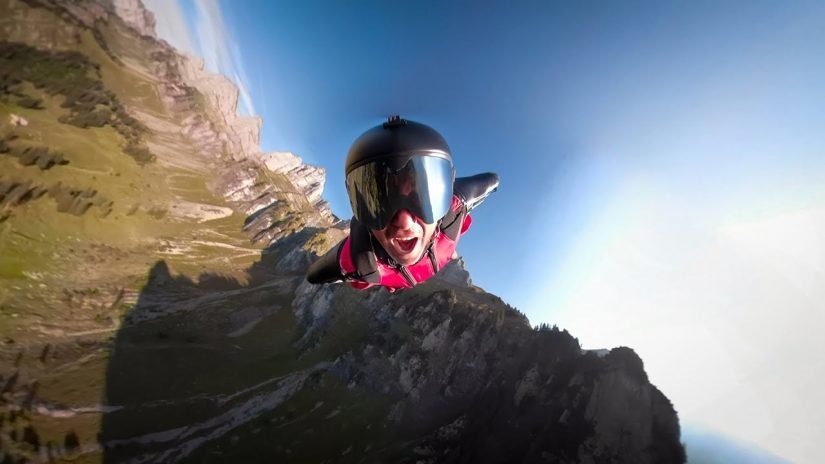GoPro Awards Singing Wingsuit Universe