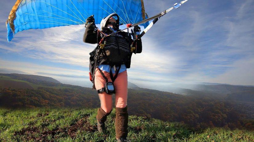 Paragliding magic Nibelungen Flight