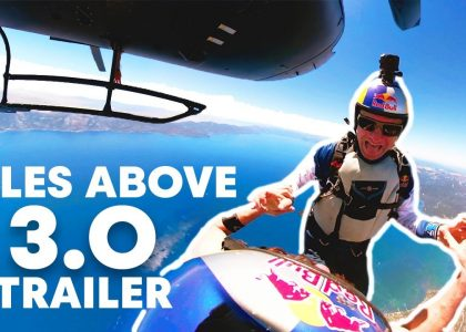 Pushing the Limits of Human Flight Miles Above 3.0 Trailer