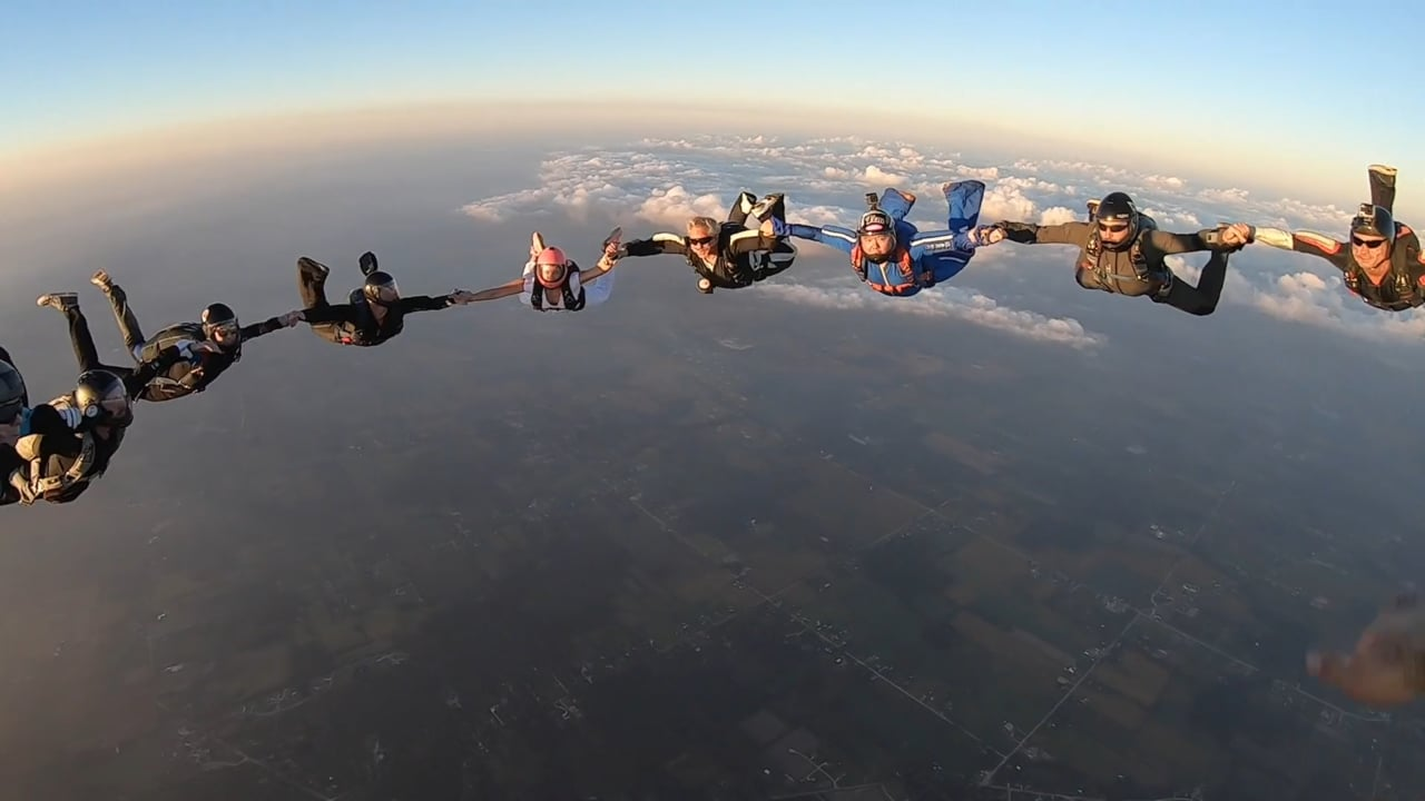 Amazing and Fun Skydiving Formation Compilation