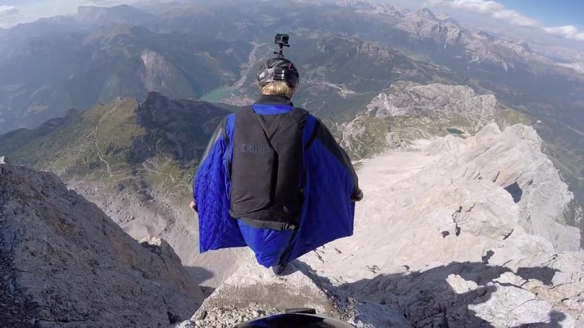 BEST OF WINGSUIT TERRAIN FLYING 2017 2018 Daniel Ristow