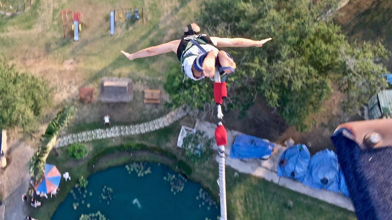 The safest Bungee Jump in the world