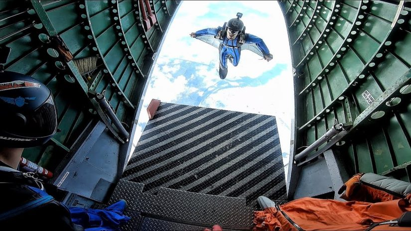 Learning How To Wingsuit Epic Skydives