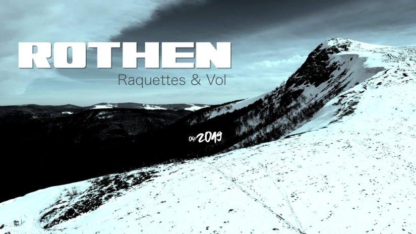 Vosges 2019 Rothen snowshoes amp flight paragliding