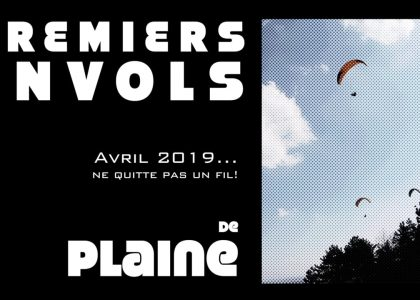 Big is 2019 flight paragliding plain in April does not leave a thread...