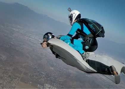 Wingsuit Flying With Awesome Adrenaline Action